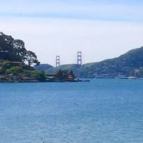 il Golden Gate Bridge da Tiburon